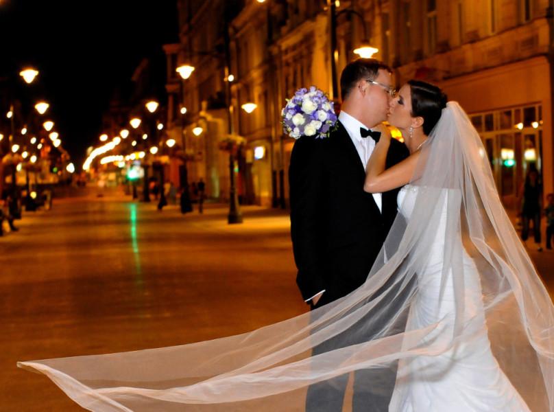 Ślub – plener